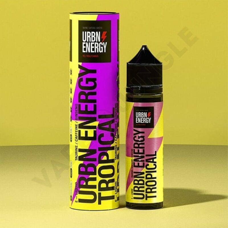 URBN Energy 60ml 0mg Tropical Mix