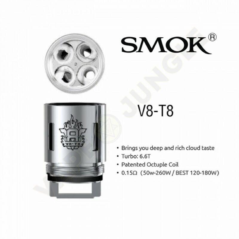 испаритель Smok V8-T8 0.15 Ом