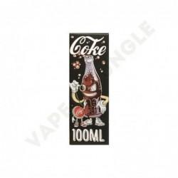 Panda's Yummy 100ml 0mg+Booster Coke