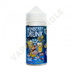 Panda's Yummy 100ml 0mg+Booster Monberry Drunk Lemonade Iced Out