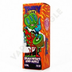 They Live 120ml 0mg+Booster Dragonfruit Kiwi Apple