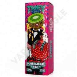 They Live 120ml 0mg+Booster Pomegranate Kiwi