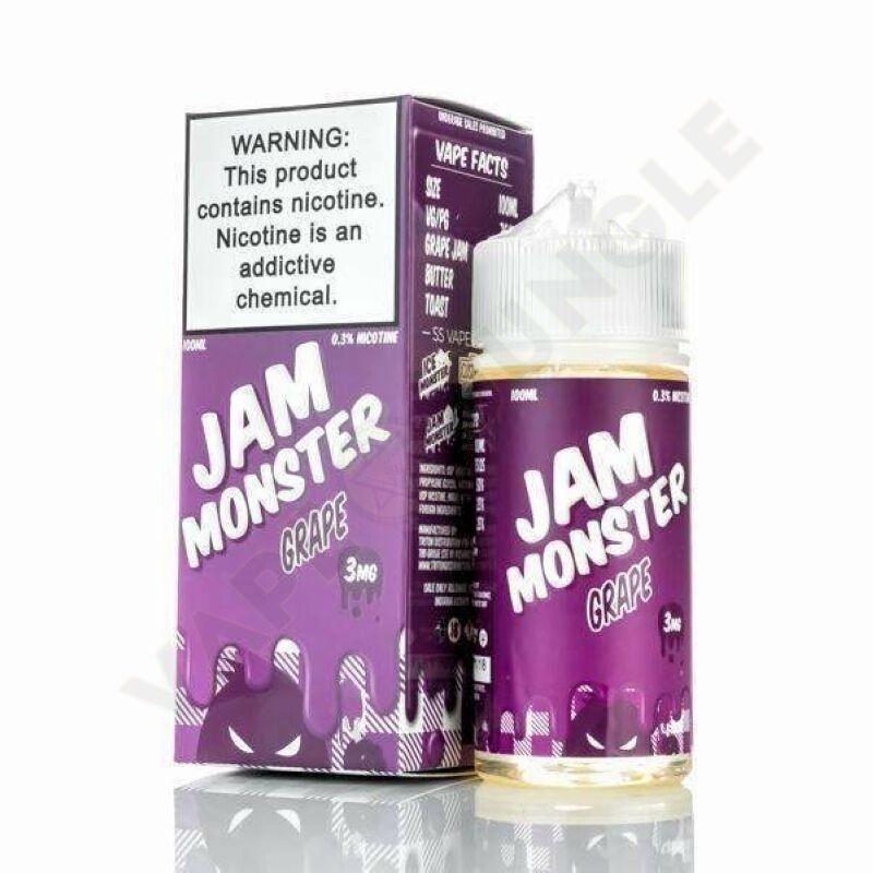 Jam Monster 100ml 3mg Grape