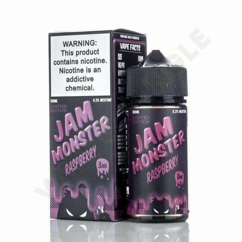 Jam Monster 100ml 3mg Raspberry
