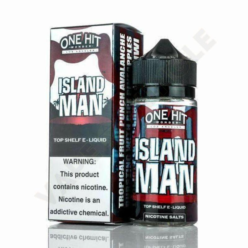 One Hit Wonder 100ml 3mg Island Man