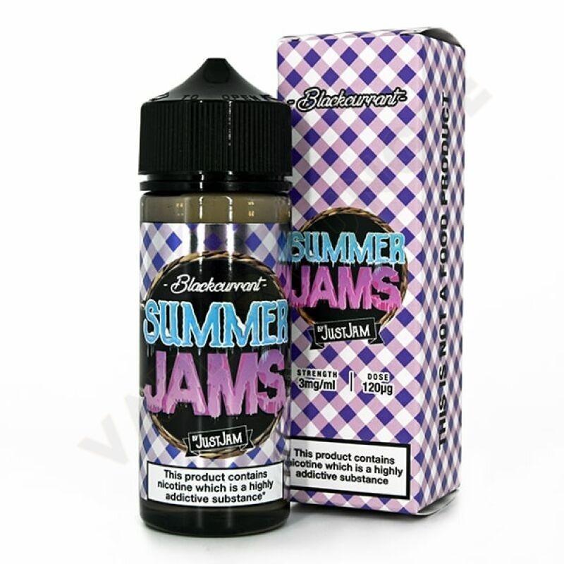 Summer Jams 120ml 3mg Blackcurrant