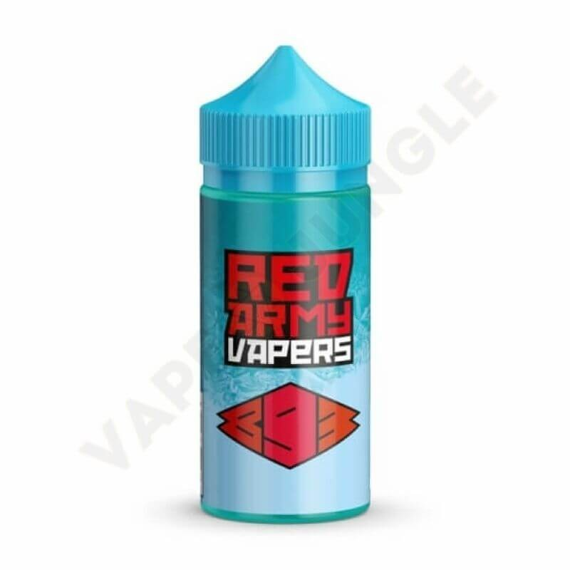 Glitch Sauce Iced Out 100ml 3mg 893 Red Army