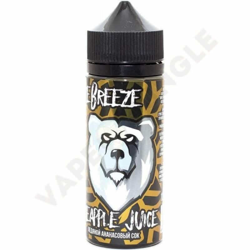Freeze Breeze 120ml 3mg Pineapple Juice